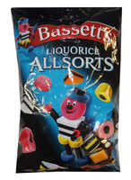 Bassetts Licorice Allsorts (1kg bags)