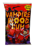 Lolliland Vampire Blood Gum - Tongue Painter (150g bag - Approx 38 pc)