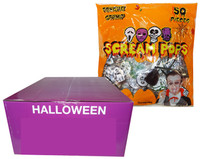 Scream Pops - Tongue Stamp (400g bag  x 18pc box)