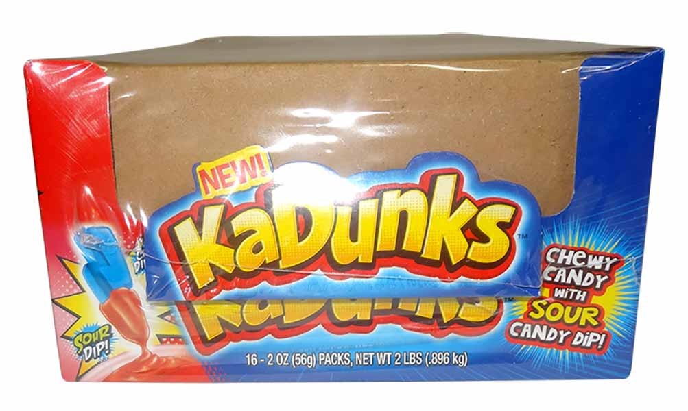 KaDunks Sour Candy Dip and more Confectionery at The Professors Online Lolly Shop. (Image Number :9772)