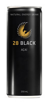 28 Black Energy Drink - ACAI (12 x 250ml Cans in a Display Unit)