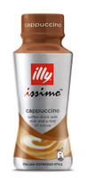 Illy Issimo Iced Coffee - Cappuccino (12 x 500ml Bottle in a Display Unit)
