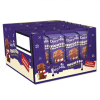 Cadbury Vanilla Mousse Snowman (33 x 30gr in a Display Unit)