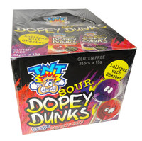 TNT Sour Dopey Dunks (15g x 36 sachets in a display unit)