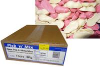 Pick n Mix - Giant Pink & White Mice (3kg box)