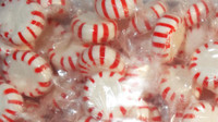 Starlight Pinwheels - Red and White - Mint, by Brisbane Bulk Supplies,  and more Confectionery at The Professors Online Lolly Shop. (Image Number :9403)
