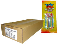TNT Sour Straps - Hang Sell Bags -  Multicolour Packs (75g x 24pc box)