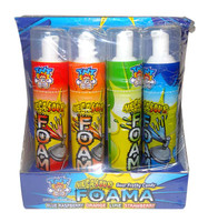TNT Mega Sour Foama - 4 Flavour Pack (75g tube x 12pc display unit)