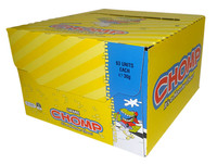 Cadbury Chomp Caramel Bars (63 bars in Display Unit)
