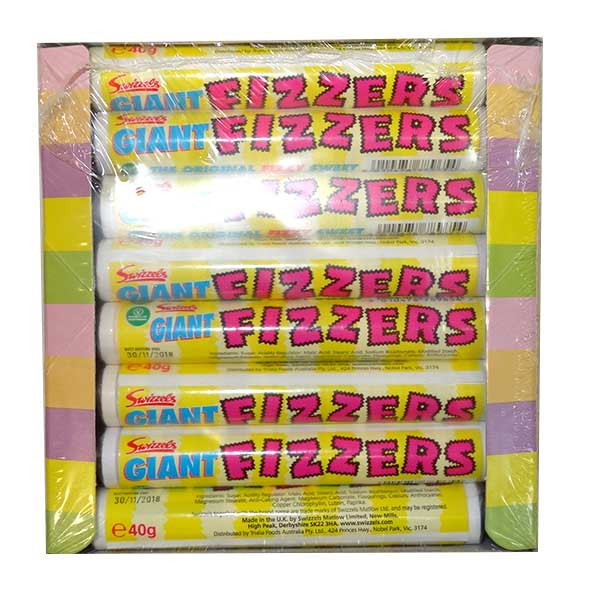 Swizzels Giant Fizzers, by Swizzles Matlow,  and more Confectionery at The Professors Online Lolly Shop. (Image Number :9910)