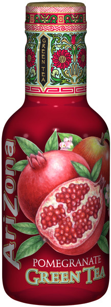 Arizona Ice Tea - Pomegranate Green Tea, by Arizona,  and more Beverages at The Professors Online Lolly Shop. (Image Number :9461)