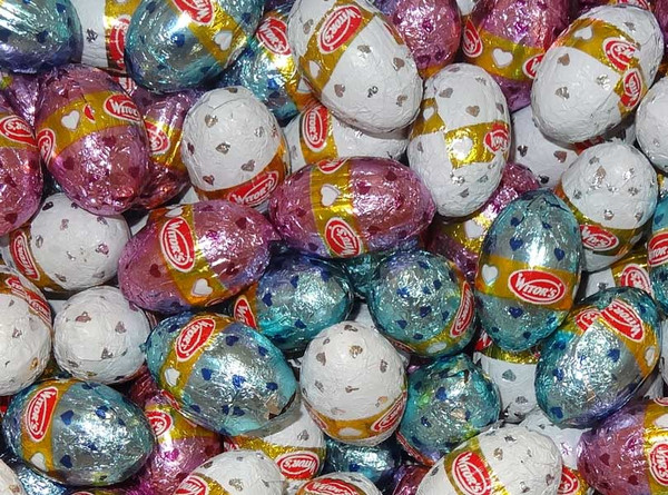 Witors Mini Milk Chocolate Easter Eggs - Bulk and more Confectionery at The Professors Online Lolly Shop. (Image Number :9613)