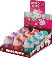 Hello Kitty Candy Baskets - Hard Candy + Toy Ring (12pc display unit)