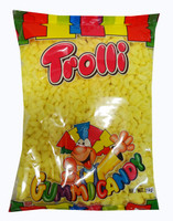 Trolli Mini Bananas - Bulk Pack (1kg x 4 bags per box)