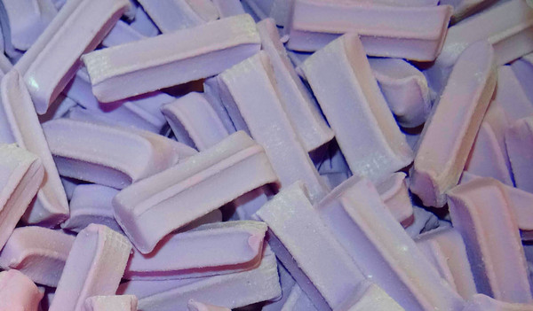 Premium Mini Fruit Sticks Bulk - Purple with a Grape Flavour, by Cooks Confectionery,  and more Confectionery at The Professors Online Lolly Shop. (Image Number :9882)