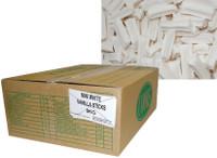 Premium Mini Fruit Sticks Bulk - White with a Vanilla Flavour (5kg box)