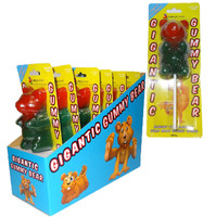 Gigantic Gummy Bear Lollipops - Display Box, by Lolliland,  and more Confectionery at The Professors Online Lolly Shop. (Image Number :9966)