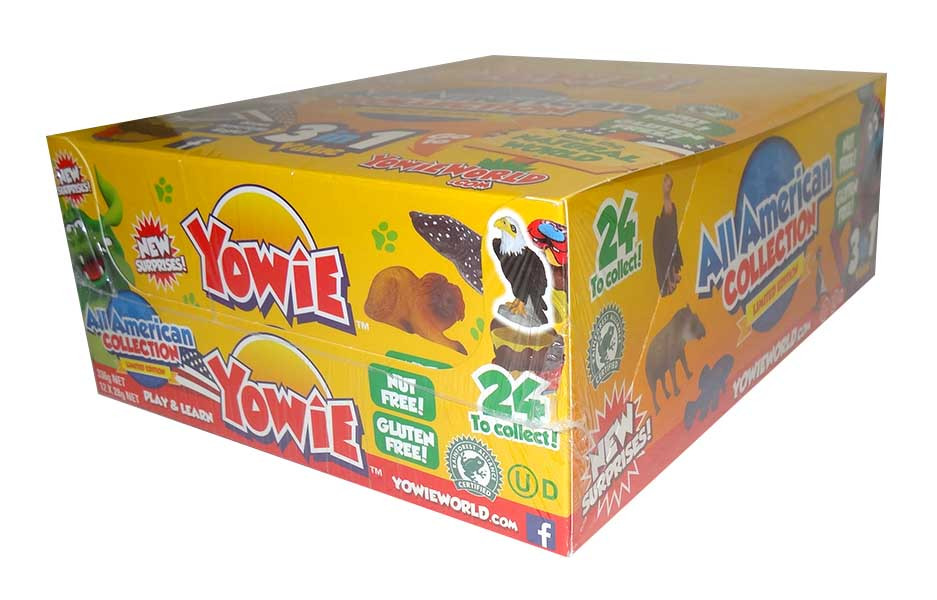 Yowie and more Confectionery at The Professors Online Lolly Shop. (Image Number :9963)