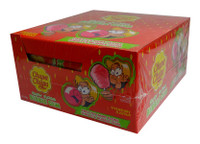 Chupa Chups - Fairy Floss Bubble Gum - Strawberry at The Professors Online Lolly Shop. (Image Number :9998)