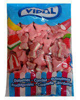 Vidal Gummy Jelly Filled Bears - Pink, by vidal,  and more Confectionery at The Professors Online Lolly Shop. (Image Number :10075)