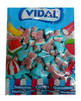 Vidal Gummy Jelly Filled Bears - Blue, by vidal,  and more Confectionery at The Professors Online Lolly Shop. (Image Number :10074)