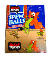 Rude Dudes - Spew Balls - Liquid Filled Sour Chews (200pc display box)