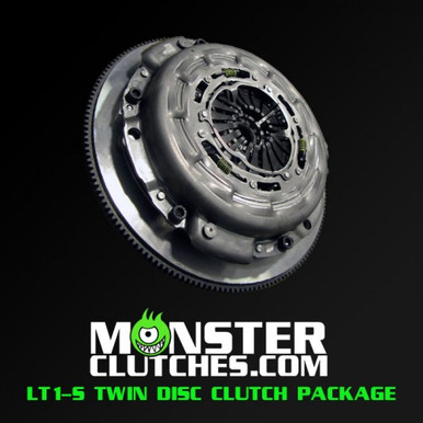Monster Lt1 S Twin Disc Clutch And Flywheel Package