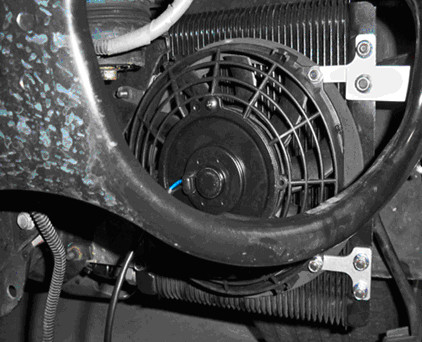 Pcmforless Brake Duct Transmission Cooler Auxiliary Fan