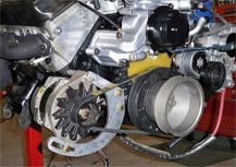 PCMforless Alernator Relocation Kit without Drivebelt for 1993-1997 Chevrolet Camaro LT1