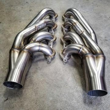 "Rock Solid Motorsports 1-7/8"" x 3"" F-Body LSX Turbo Headers, 304 Stainless"