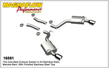 "Magnaflow 2.5"" Stainless Steel Street Series Cat-Back for 2010+ Camaro SS V8 6.2L; Excl. Convertible (4"" Tips)"