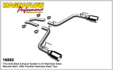 "Magnaflow 2.5"" Stainless Steel Street Series Cat-Back for 2010+ Camaro SS V8 6.2L; Excl. Convertible (5"" Tips)"