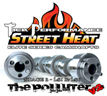 "Tick Performance Elite Series Camshaft: Street Heat Stage 3 ""POLLUTER V2"" for LS1 & LS6 Engines"