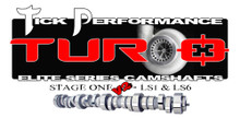 Tick Performance Turbo Stage 1 V2 Camshaft for LS1 & LS6 Engines