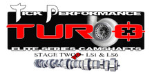 Tick Performance Turbo Stage 2 V2 Camshaft for LS1 & LS6 Engines