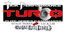 Tick Performance Turbo Stage 3 V2 Camshaft for LS1 & LS6 Engines