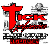 Tick Performance Elite Series Camshaft Package for LS1 & LS6 Engines