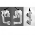 Pre-plumbed Valves  D.E. and Sand Filters