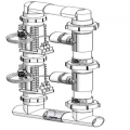 Dual System Manifold Parts