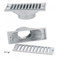 Uni-Fit Rectangular Gutter Drains and Grates