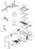 Raypak | Professional Digital Heaters | Burner Tray w/Gas Valve Pro | 013803F