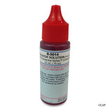 Taylor | Reagents | pH Indicator Solution (for Residential Series), Phenol Red, .75 oz, Dropper Bottle, 24-pack | R-0014-A-24