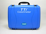 """Taylor   Replacement Parts   Case, Colorimeter Hard Carrying w/ molded insert, 20"""" w x 15.625"""" d x 5.5"""" h, polypropylene, blue   9504"""