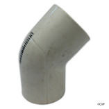 "PVC LASCO | 1/2"" SLIP 45 DEGREE ELBOW 