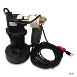 SUMP PUMPS | SUBMERSIBLE POOL AND SPA SUMP PUMP | 5.5-ASP 25'CD 2400GPH | 505701