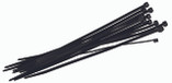 "CHRISTY | 11"" UV BLACK CABLE TIE 