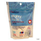 SEAKLEAR | MIGHTY POD  WEEKLY POOL CARE 2PK | 1160000