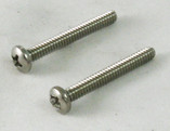 PENTAIR | JET VAC SCREW STAINLESS STEEL 2PK | Wheel Screw JetVac JV105 Automatic Pool Cleaner | JV39