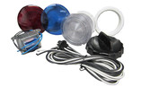 "Waterway | LIGHT KIT | 3-1/2"" WALL FITTING WITH 8' HARNESS AND BULB 