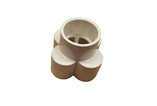 "Waterway | MANIFOLD | 4-PORT END-STYLE 1-1/2"" SLIP X 1"" SLIP 